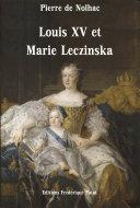 Pdf Louis XV et Marie Leczinska Telecharger