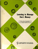 Learning to Manage One's Money