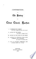 Contributions to the History of Christ Church, Hartford