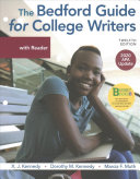 Loose Leaf Version for the Bedford Guide for College Writers with Reader  2020 APA Update