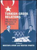 Turkish-Greek Relations ebook