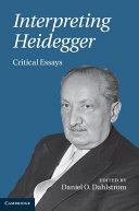 Interpreting Heidegger