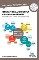 Operations and Supply Chain Management Essentials You Always Wanted to Know Book