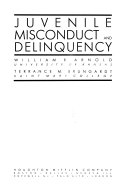 Juvenile Misconduct and Delinquency