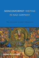Nonconformist Writing in Nazi Germany