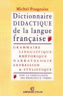Pdf Dictionnaire didactique de la langue française Telecharger