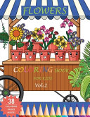 Flowers Coloring Book for Kids  VOL 2