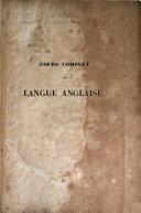 Cours complet de langue anglaise ebook