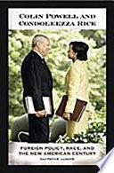 Read Online Colin Powell and Condoleezza Rice For Free