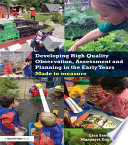 Developing High Quality Observation Assessment And Planning In The Early Years