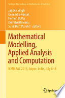 Mathematical Modelling  Applied Analysis and Computation
