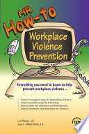 HR How to Workplace Violence Prevention Book