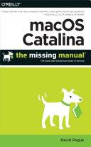 macOS Catalina  The Missing Manual