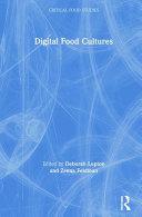 Digital Food Cultures Book PDF