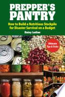 Prepper s Pantry Book