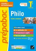 Pdf Philosophie Tle générale (tronc commun) - Prépabac Cours & entraînement Telecharger