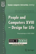 Pdf People and Computers XVIII - Design for Life