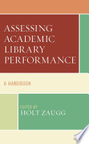 Assessing Academic Library Performance