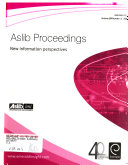 Aslib Proceedings Book