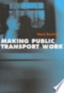 Making Public Transport Work Book PDF