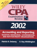 Wiley CPA Examination Review 2002  Accounting and Reporting