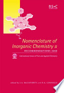 Read Online Nomenclature of Inorganic Chemistry II For Free
