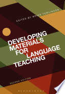 """""""Developing Materials for Language Teaching"""" by Brian Tomlinson"""
