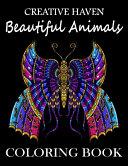 Creative Haven Beautiful Animals Coloring Book