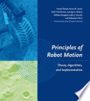 Cover of Principles of Robot Motion