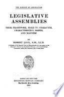 Legislative Assemblies