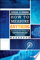 How to Measure Anything Workbook Book
