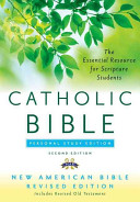 The Catholic Bible Personal Study Edition Book