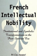 Pdf French Intellectual Nobility Telecharger