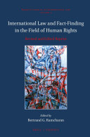 International Law and Fact-Finding in the Field of Human Rights