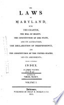The Laws Of Maryland