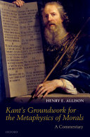 Kant's Groundwork for the Metaphysics of Morals [Pdf/ePub] eBook