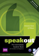 Speakout Pre-Intermediate Students' Book for DVD/Active Book and Mylab Pack