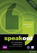 Speakout Pre Intermediate Students  Book for DVD Active Book and Mylab Pack