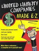 Limited Liability Companies Made E Z