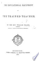The Educational Equipment of the Trained Teacher