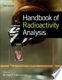 """Handbook of Radioactivity Analysis"" by Michael F. L'Annunziata"