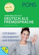 PONS Verbtabellen plus Deutsch
