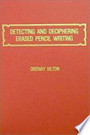 Detecting and Deciphering Erased Pencil Writing