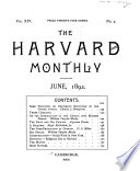 The Harvard Monthly