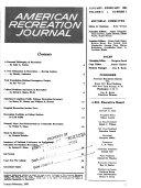 American Recreation Journal