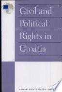 Civil And Political Rights In Croatia