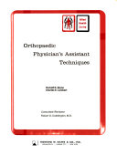 Orthopaedic Physician s Assistant Techniques Book