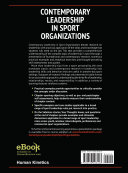 Contemporary Leadership in Sport Organizations