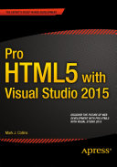Pro HTML5 with Visual Studio 2015 [Pdf/ePub] eBook