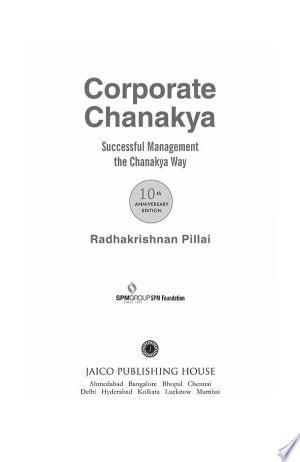 Free Download Corporate Chanakya PDF - Writers Club